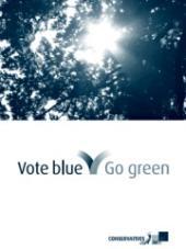 Modrozelené volební logo konzervativců