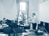Součástí semináře byl i trénink komunikačních dovedností.