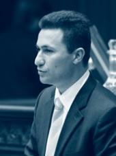 Nikola Gruevski - nový pravicový předseda makedonské vlády