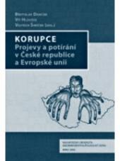 Korupce – Projevy a potírání v ČR a EU