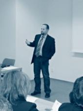 Vít Hloušek při přednáškách