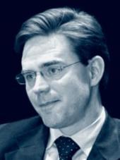 Jyrki Katainen, předseda Finské národní koaliční strany