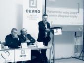 Na konferenci vystoupil i poslanec Evropského parlamentu Jan Zahradil