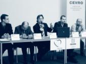 Konference přinesla živou diskusi. Na snímku politolog CEVRO Institutu Petr Sokol.