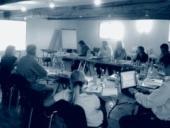 Na konferenci se sešlo šestnáct zástupců organizací z celé Evropy.