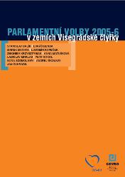 Parlamentní volby 2005-6 v zemích Visegrádské čtyřky - obálka knihy