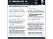 """Kampaň """"10 věcí, které Labor provede vašemu podnikání"""""""