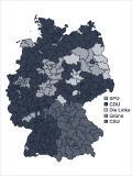 Volební geografie německých voleb