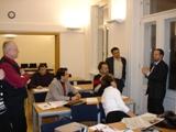 Diskuse o přestávce mezi bloky PhDr. Víta Hlouška, Ph.D.