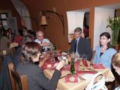 Slavnostní večeře absolventů LKA Olomouc