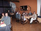 Chvíle před předáváním diplomů absolventům LKA 2004-2005 Olomouc