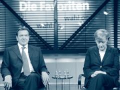 Merkelová, Schröder