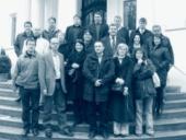 Společné foto účastníků semináře v Haus Rissenu