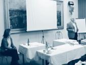 Jednou ze součástí školení je i komunikační trénink vedený Jiřím Frgalem a Hanou Svobodovou