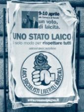 Typický italský předvolební plakát