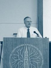 David Rasmussen při přednášce