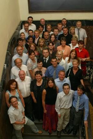 Absolventi pražské větve LKA 2005/2006