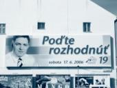 Megaboard SMERu v centru Bratislavy
