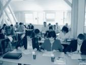 Studenti při testech v Olomouci